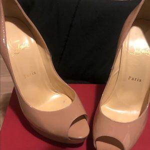 Lady Peep Christian Louboutin Heels